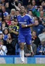 """Didier Drogba a reusit un gol dintr-o faza pe care o poate omologa drept """"marca inregistrata"""" ."""