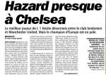 L'Equipe: Hazard aproape de Chelsea