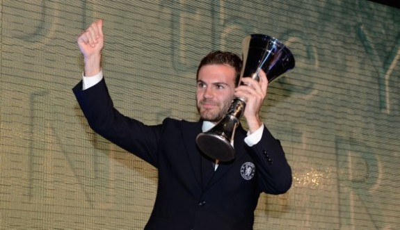 Juan Mata player of the year
