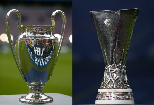 europa league and ucl