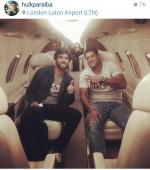 Hulk la Londra cu avionul privat a lui Roman Abramovich