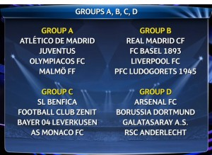 grupa A D 300x219 Tragerile la sorti ale Uefa Champions League