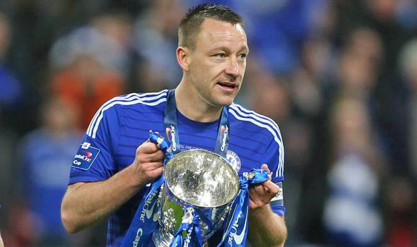 John Terry carling Cup