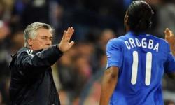 Drogba si Ancelotti in cursa pentru marele premiu