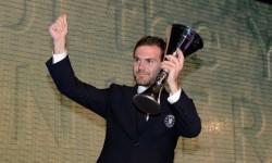Mata ales de coechipieri ca fiind cel mai bun fotbalist al sezonului