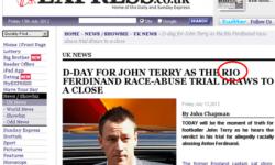 John Terry si adevaratul motiv al procesului in care este acuzat de rasism.
