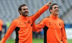 Prima mea zi la club : Mata, Romeu si Hutchinson