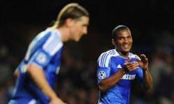 Prima mea zi la club : Fernando Torres si Florent Malouda
