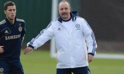 Primul antrenenament cu Benitez