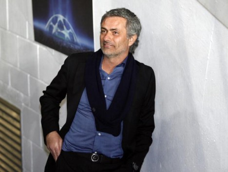 Inter Milan's Portuguese Head Coach Jose