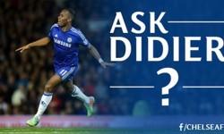 Didier Drogba va raspunde intrebarilor fanilor